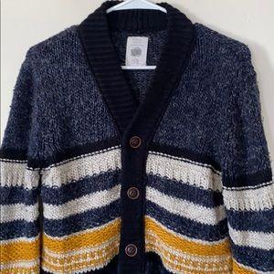 ZARA Wool Blend Cardigan Sweater